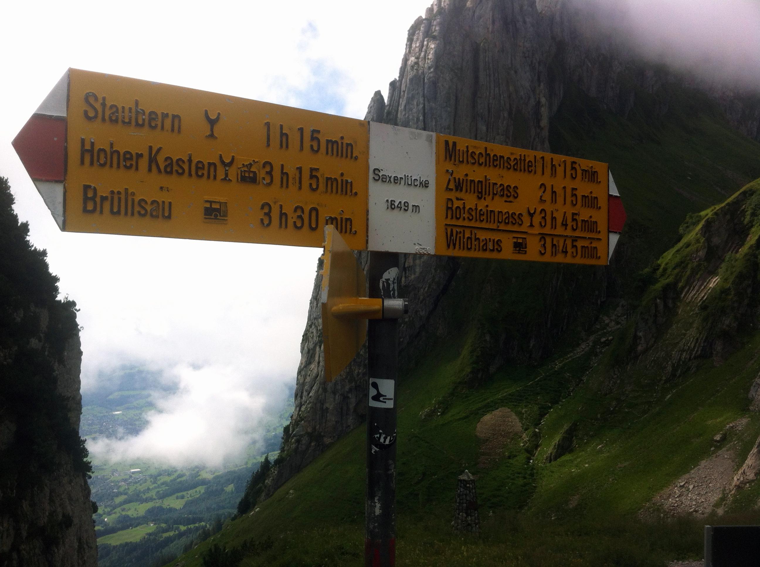 Felskletternch Touren Buch Bergwanderung Bollenwees Hoher